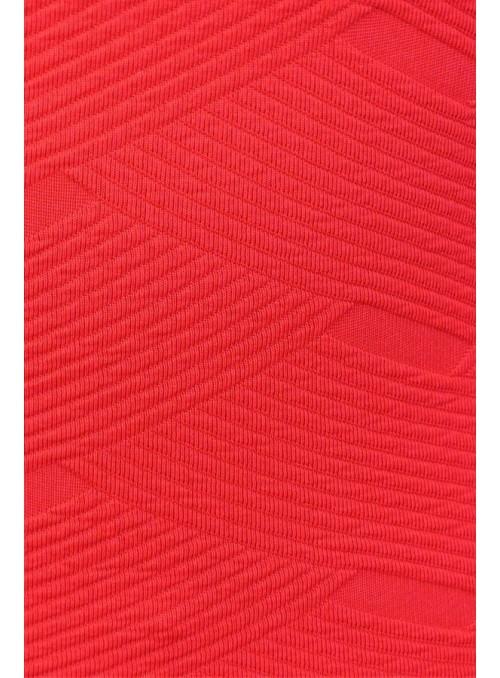 Varla  - Rouge Recyclé Gaufré