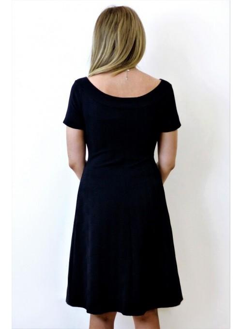 Robe dos nu - New York - Rayé Fleur