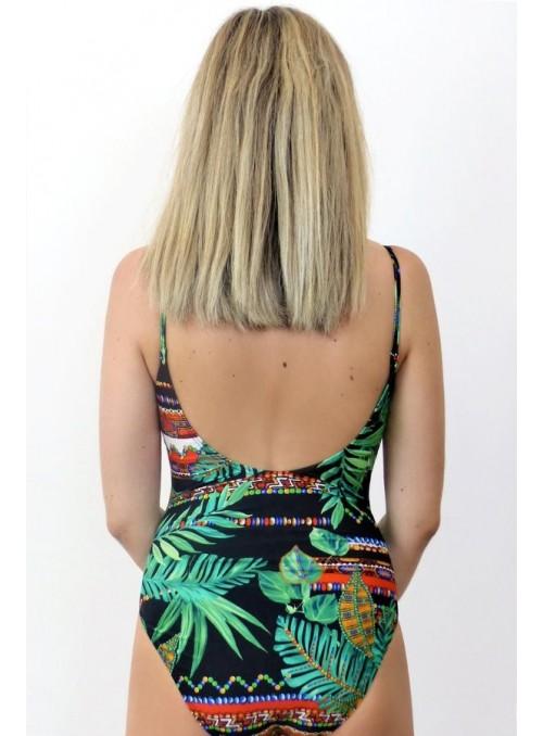 Bustier Miami - Imprimé Japon - Taille unique, maillot de bain 1 pièce