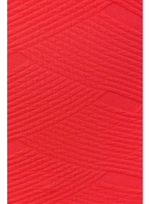 Leggins - Rouge en tissu...