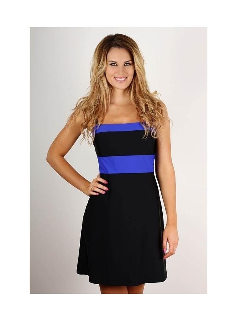 Marina - Noir et bleu