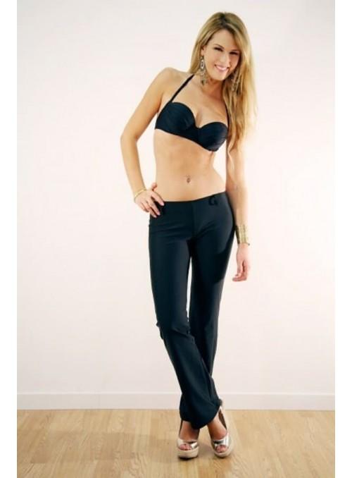 Pantalon confortable Kim Noir