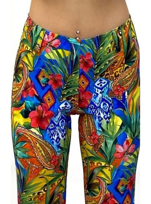 Pantalon pattes d'eph Jumper - Imprimé Cachemire