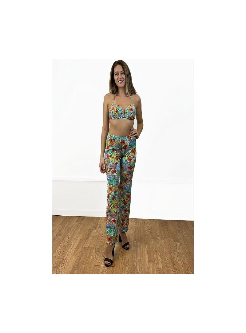 Pantalon confortable  Kim - Imprimé Flower