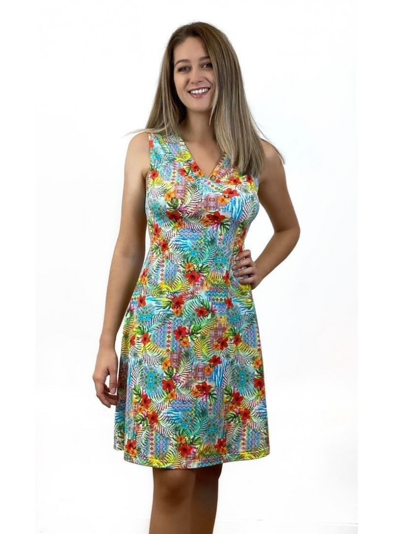 Robe - Vanessa - Flower