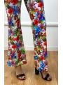 Pantalon pattes d'eph Jumper - Imprimé Orchidée